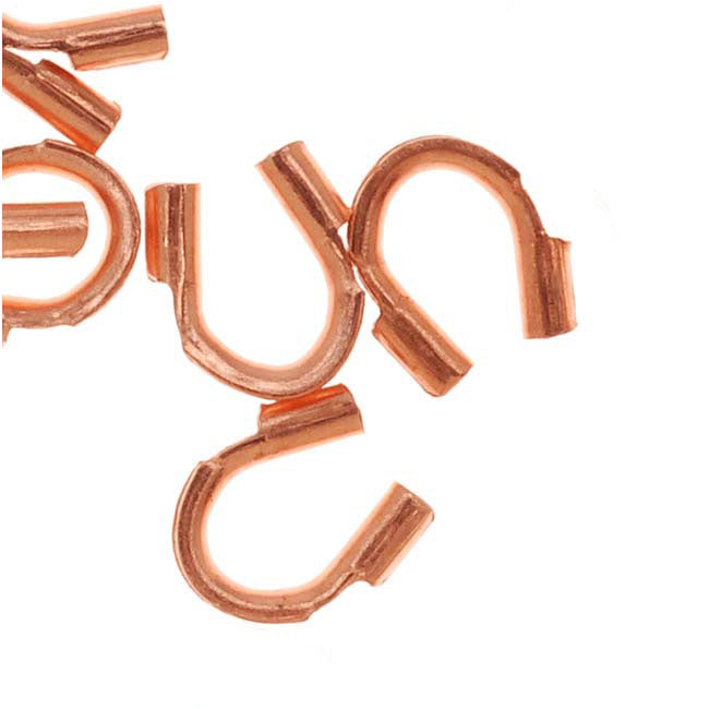 Genuine Copper Wire & Thread Protectors .019 Inch Loops (50)