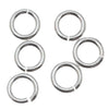 Sterling Silver Open Jump Rings 5mm 18 Gauge (10)