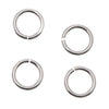 Sterling Silver Open Jump Rings 5mm 20 Gauge (10)