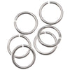 Sterling Silver Open Jump Rings 6mm 20 Gauge Heavy (10)