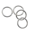 Sterling Silver Closed Jump Rings 6mm 20 Gauge (10)