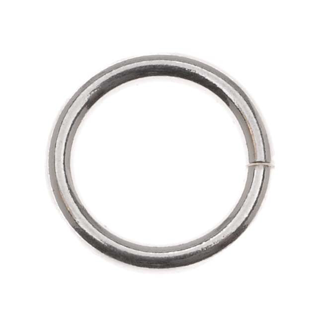 Sterling Silver Open Jump Rings 12mm 14 Gauge Heavy (2)