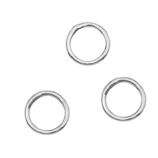 20 Pieces Closed 5mm Diameter 20 Gauge Jump Rings Gold Plated