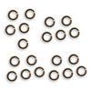 Vintaj Natural Brass Jump Rings 5.25mm Open 18 Gauge (20)