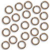 Vintaj Natural Brass Jump Rings 7.25mm Open 16 Gauge (20)