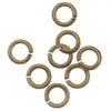 Antiqued Brass Open Jump Rings 4mm 20 Gauge (x100)