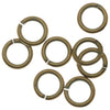 Antiqued Brass Open Jump Rings 5mm 20 Gauge (x100)