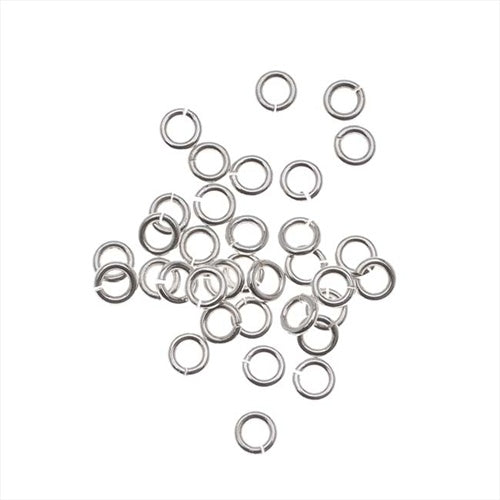 Silver Filled Open Jump Rings 3mm 22 Gauge (20)