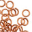 Artistic Wire, Chain Maille Jump Rings, 18 Ga / ID 3.57mm / 160pc, Tarnish Resistant Copper