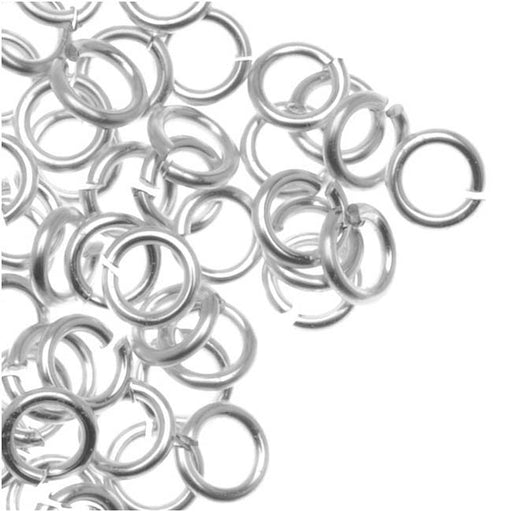 Artistic Wire, Chain Maille Jump Rings, 20 Ga / ID 2.78mm / 110pc, Tarnish Resistant Silver Plated