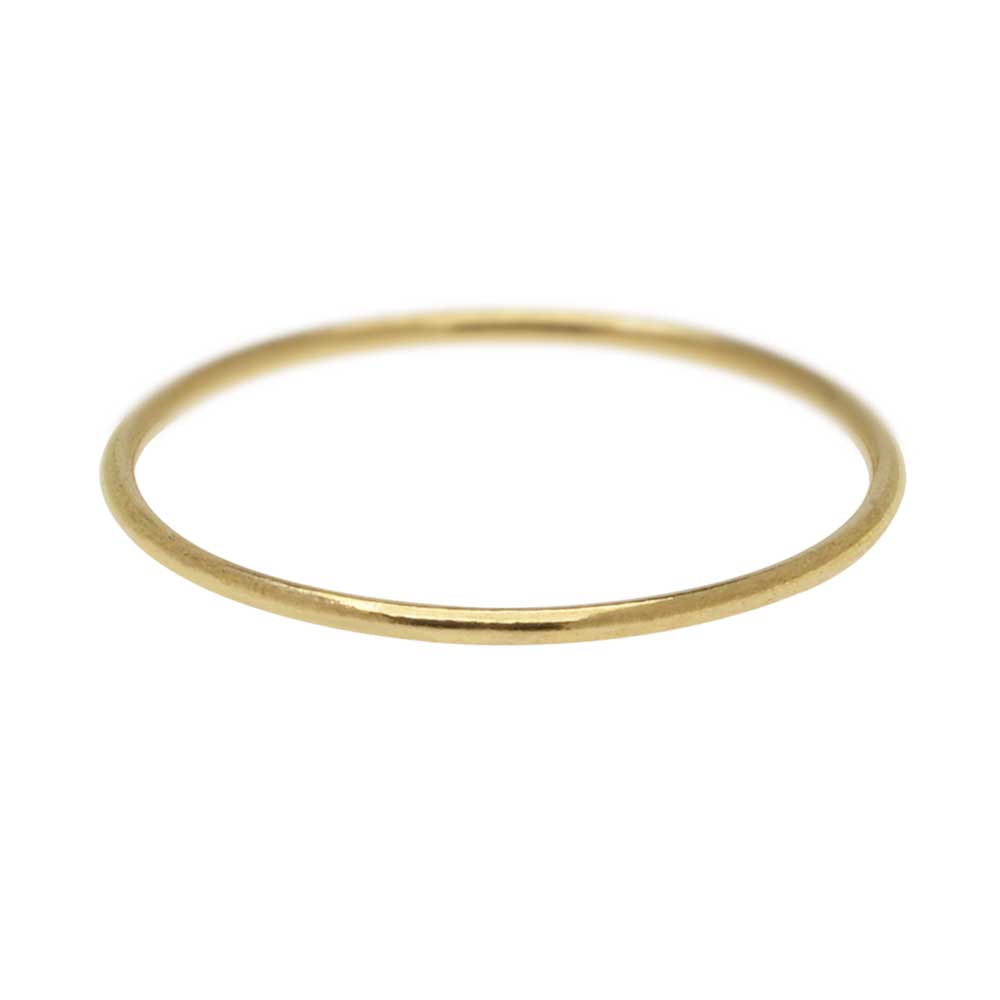 Stacking Ring, 1mm Round Wire / US Size 6, 1 Piece, 14K Gold Filled