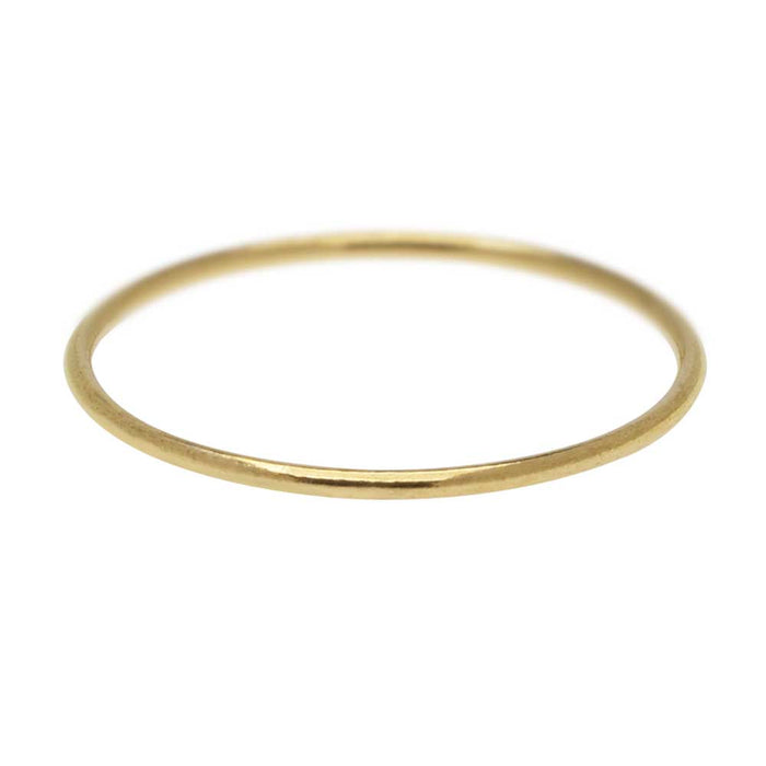 Stacking Ring, 1mm Round Wire / US Size 8, 1 Piece, 14K Gold Filled