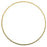 Solid Brass Bangle, Round Domed Bracelet 1.5mm (1/16 Inch) Wide, 1 Piece