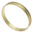 Solid Brass Bangle, Round Channel Bracelet 7.9mm (5/16 Inch) Wide, 1 Piece