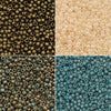 Exclusive Beadaholique Designer Palette, Toho Seed Bead Mix, Round 11/0, 32 Grams, Ancient Turquoise