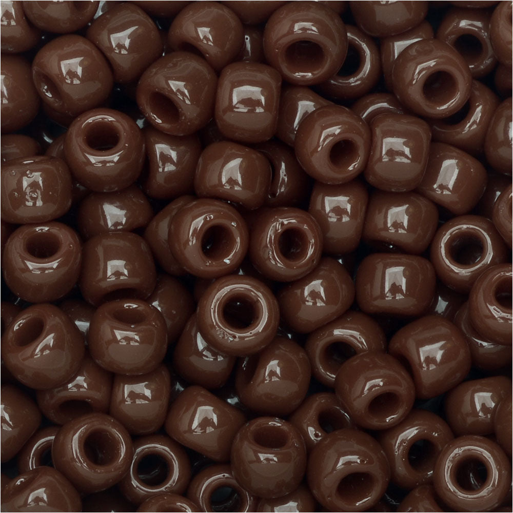 Toho Round Seed Beads 6/0 46 'Opaque Oxblood' 8 Gram Tube