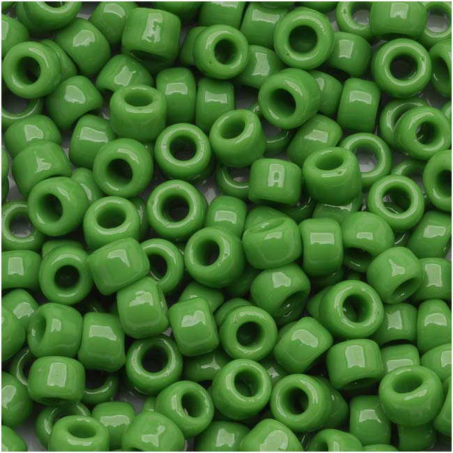 Toho Round Seed Beads 6/0 #47 'Opaque Mint Green' 8g