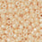 Toho Seed Beads, Round 8/0 #123 'Opaque Lustered Light Beige', 8 Grams