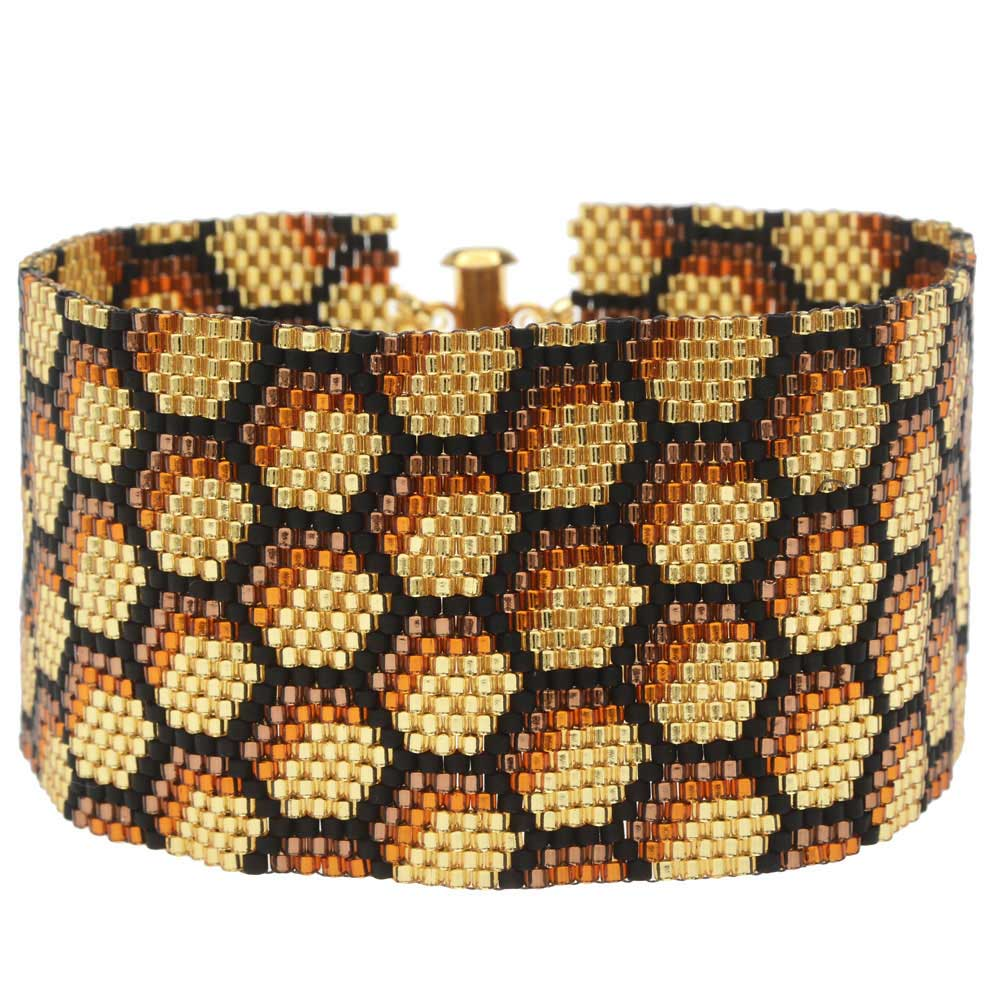 Peyote Bracelet - Honeycomb - Exclusive Beadaholique Jewelry Kit
