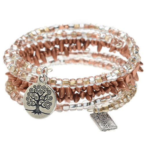 Copper Harmony Bangle Trio - Exclusive Beadaholique Jewelry Kit