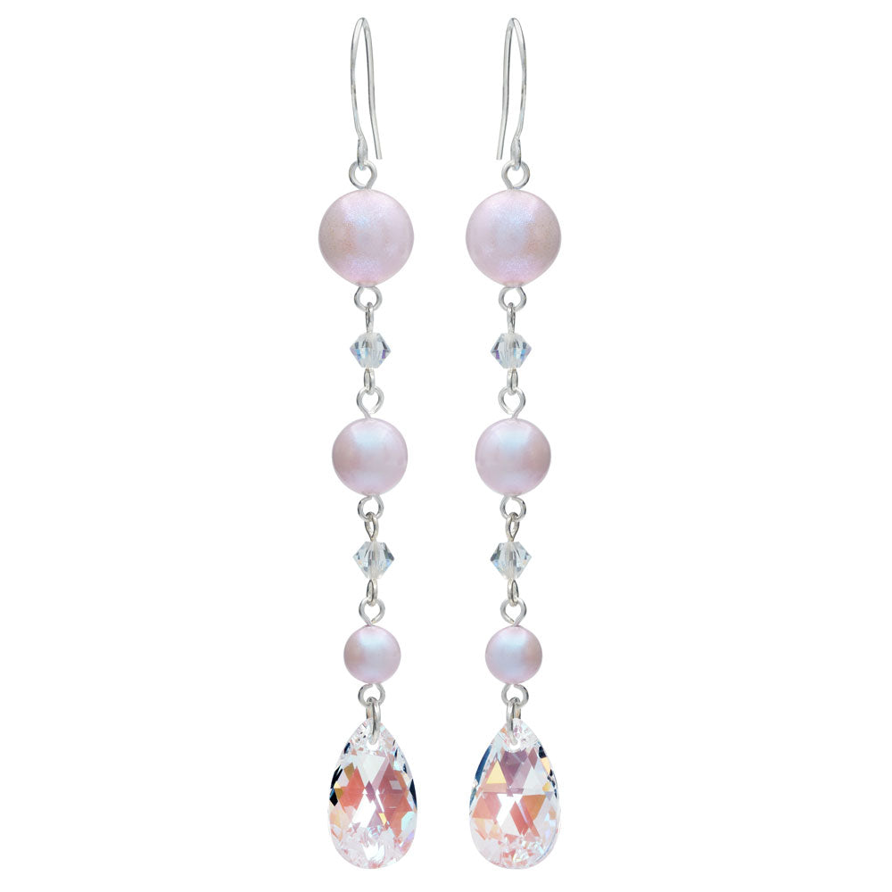 Dreamy Pearl Drop Earrings Mini Kit in Rose - Exclusive Beadaholique Jewelry Kit