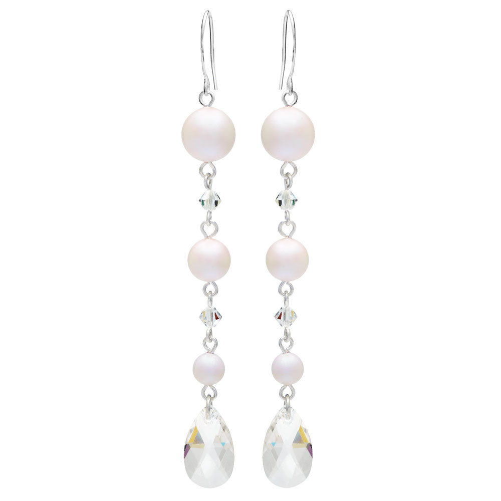Dreamy Pearl Drop Earrings Mini Kit in Pearlescent White - Exclusive Beadaholique Jewelry Kit