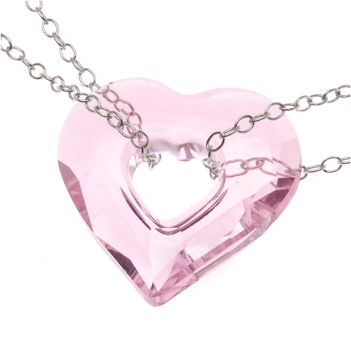 Heart in Chains Necklace