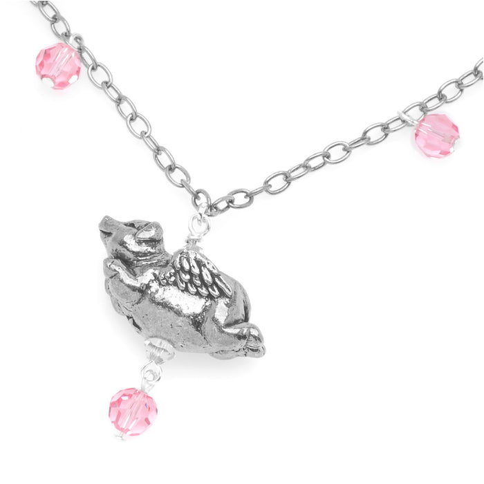 Retired - When Pigs Fly Necklace