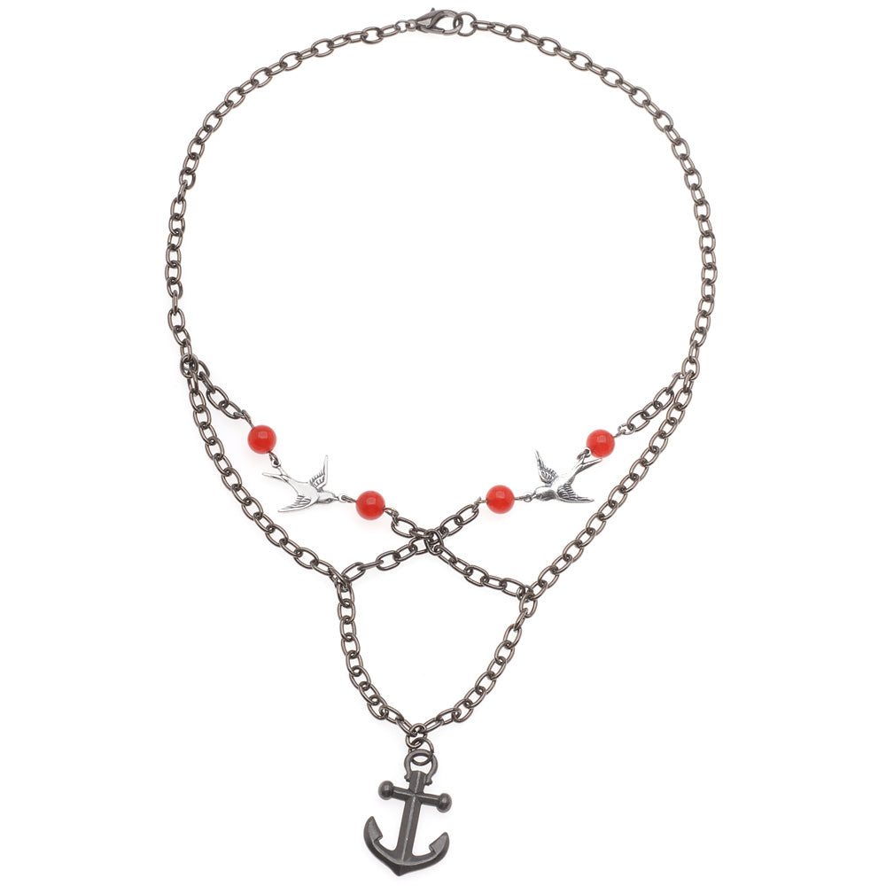 Retired - Anchors Away Necklace
