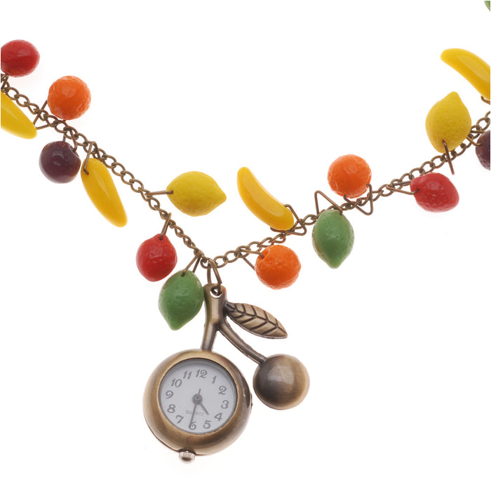 Retired - Time for Fruit Salad Necklace