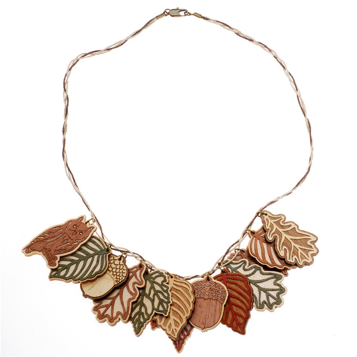 Retired - The Autumn Forest Necklace