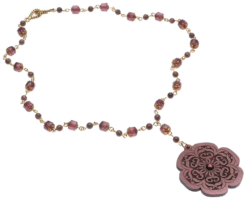 Retired - The Rose Window Necklace