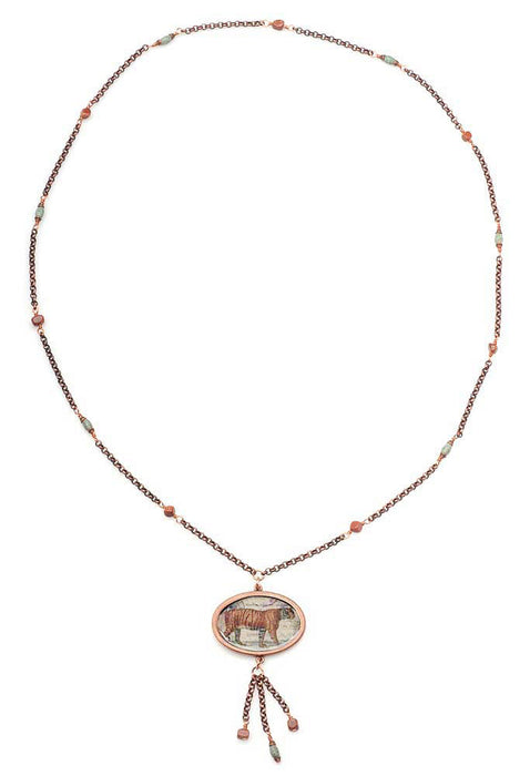 Retired - Tyger! Tyger! Burning Bright Necklace