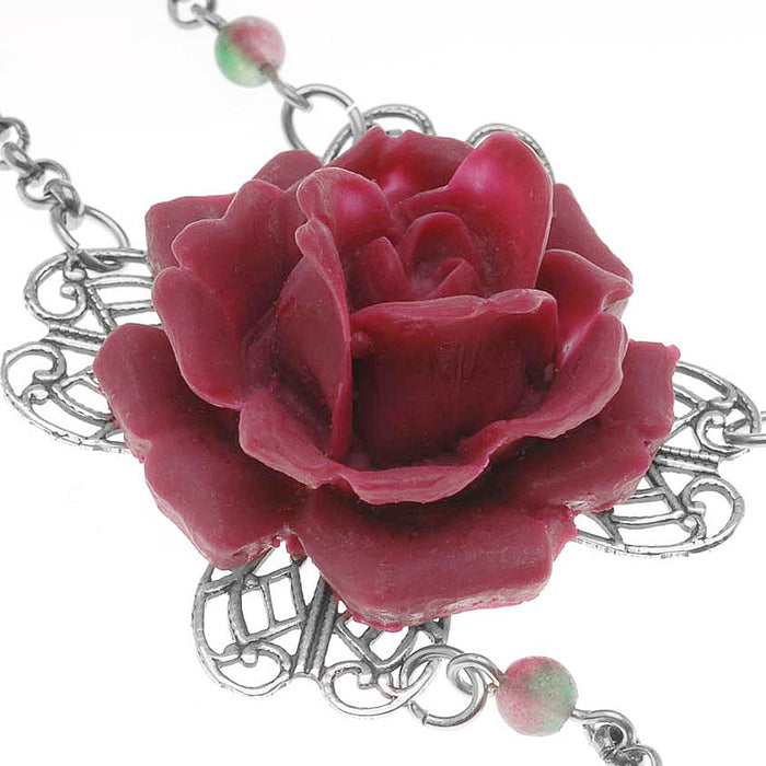 Retired - Wild Irish Rose Necklace