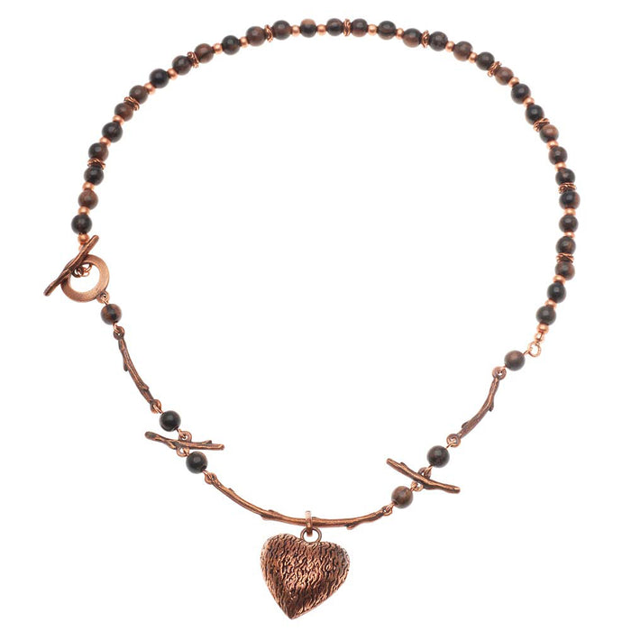 Retired - My Wooden Heart Necklace