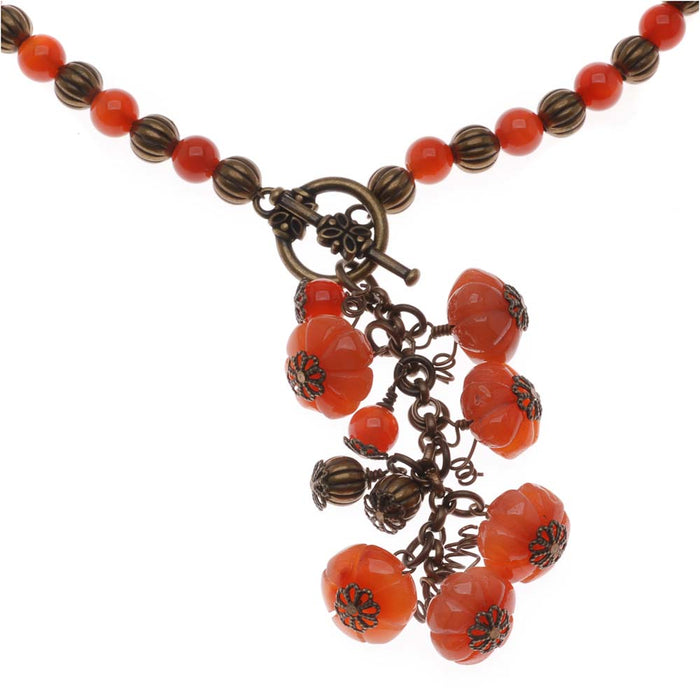 Retired - Pumpkin Patch Necklace