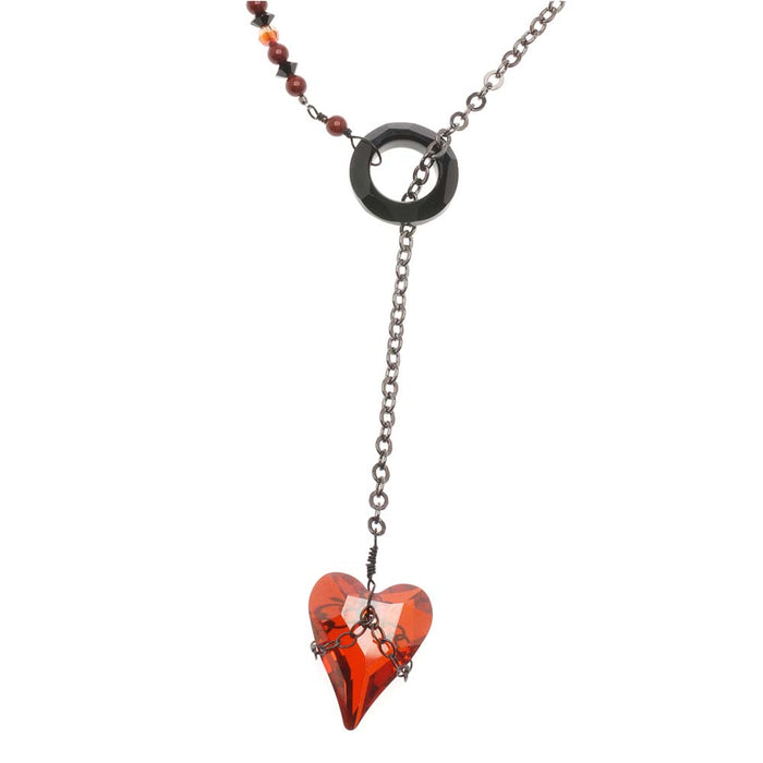 Retired - Unchain My Heart Lariat Necklace