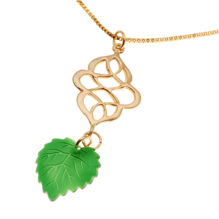 Retired - Lucky Leaf Necklace
