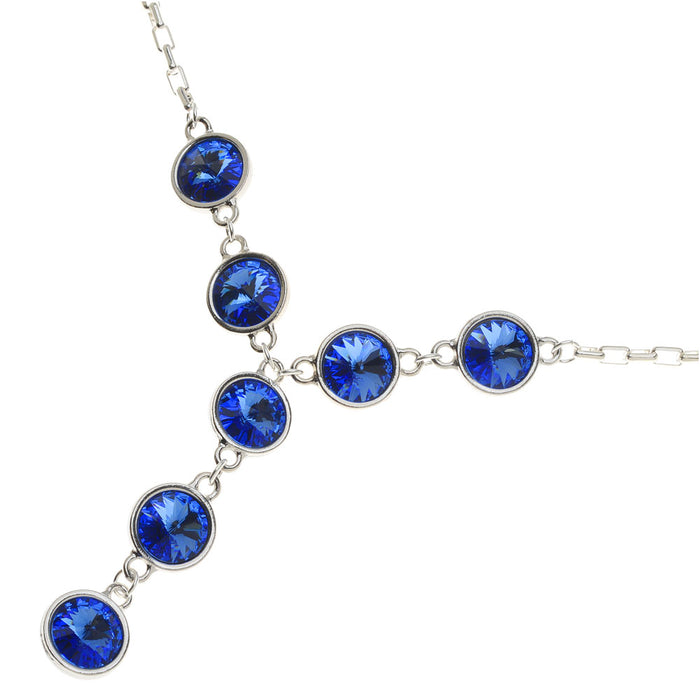 Retired - Sapphire Song Necklace