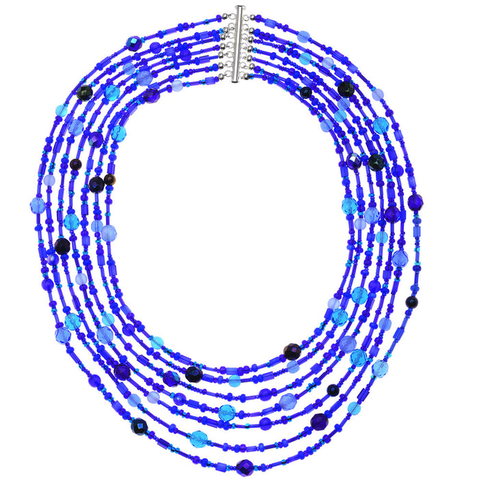 Retired - Azure Waterfall Necklace