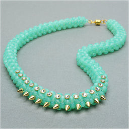 Freshly Minted Glam Necklace