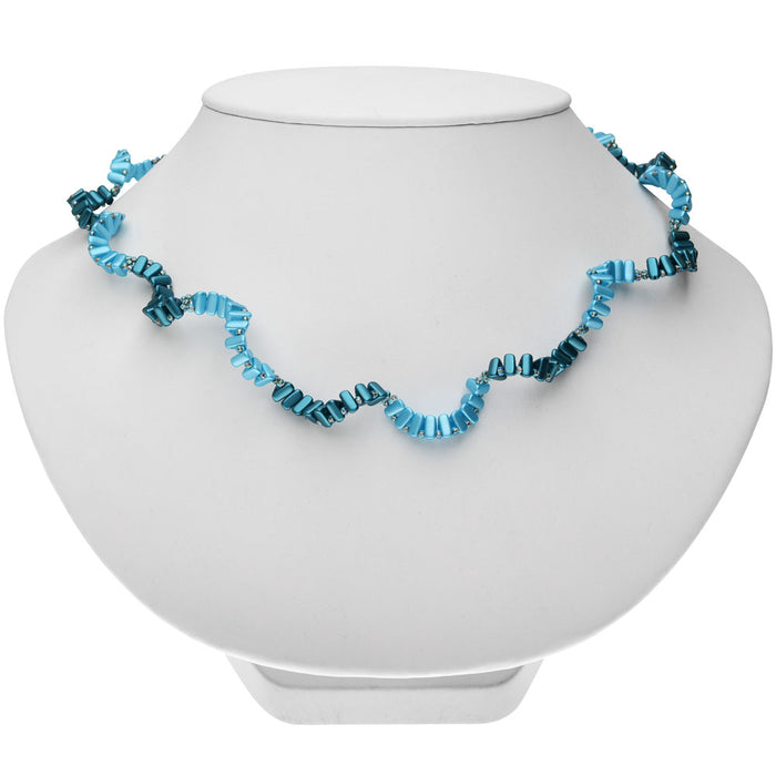 Retired - Twisted Pacific Waves Necklace