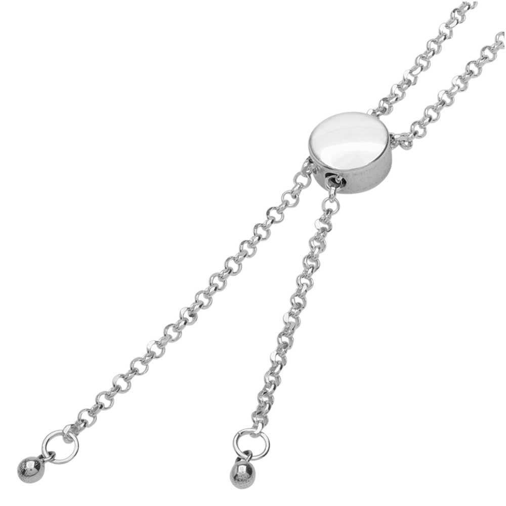 Sterling Silver Chain Bolero Necklace