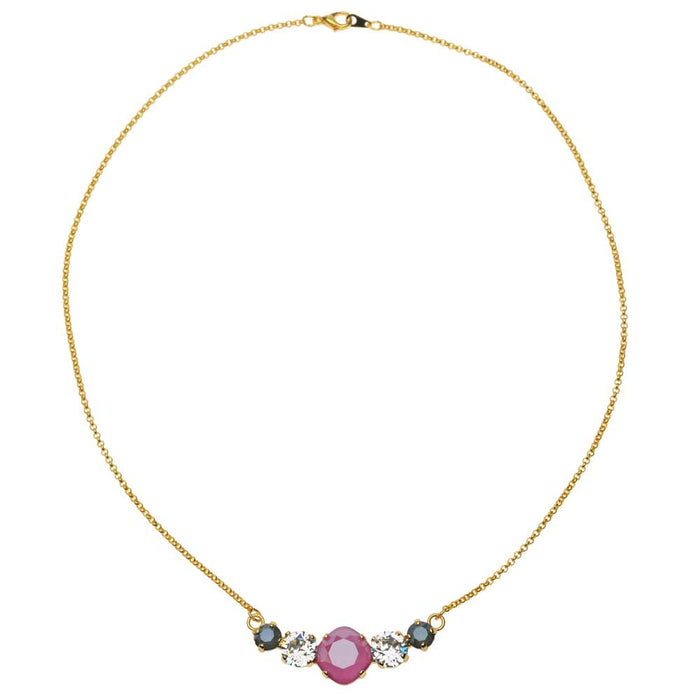 Perfect in Peony Necklace