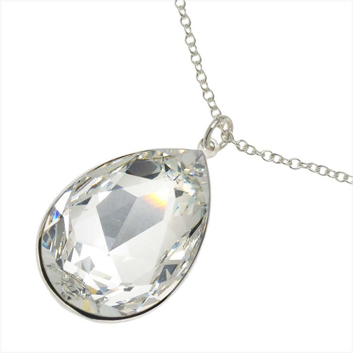 Sparkling Teardrop Necklace