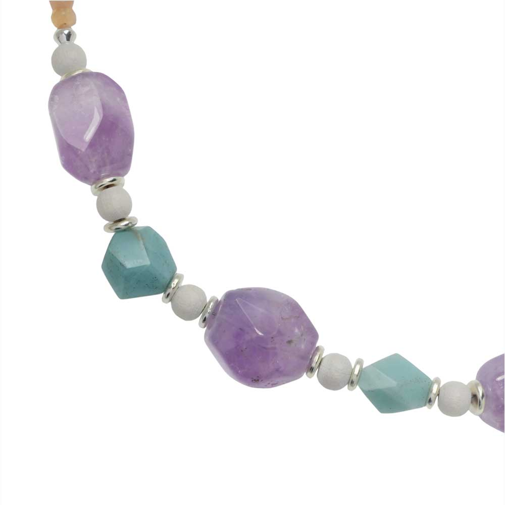 Retired - Springtime Gemstone Necklace