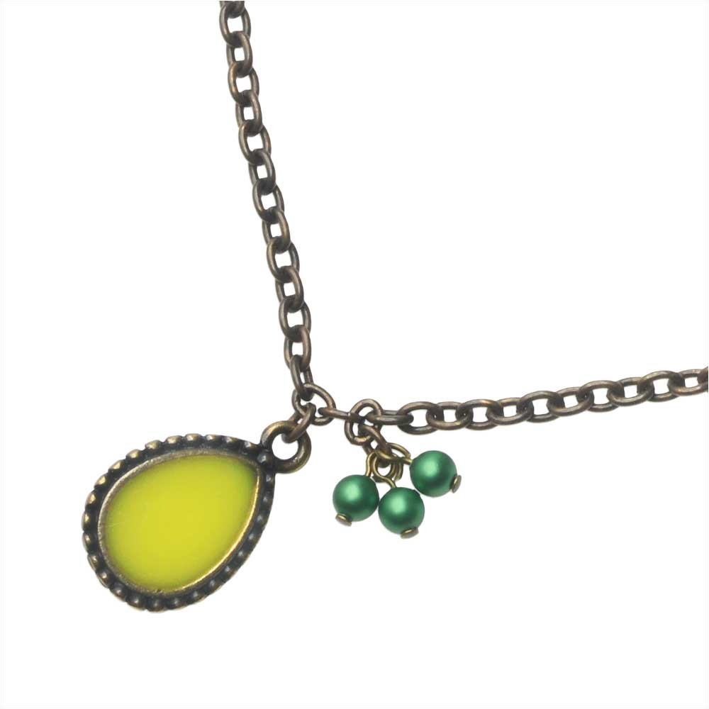 Joyful Lemon Necklace