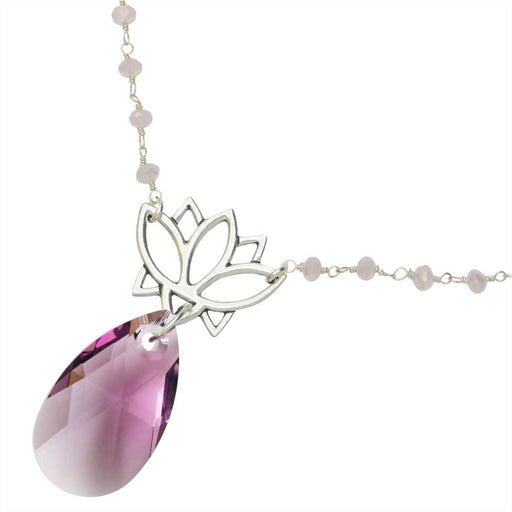 Serene Lotus Necklace