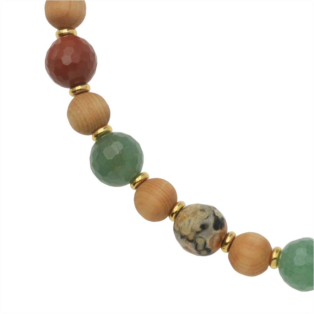 Rapid City Gemstone Necklace