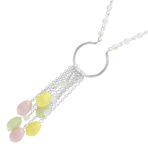 Pearls in Springtime Necklace